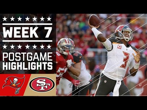 Buccaneers vs. 49ers | NFL Week 7 Game Highlights