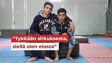16-vuotias Mohammed kantaa isän roolia