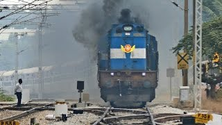 The ANGRY Train - Vivek Express ERUPTS : Indian Railways