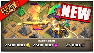 """GOLDEN DRAGON"" FINAL FIGHT in Clash of Clans!!"" NEW GOBLIN MAPS ARE INSANE!!"
