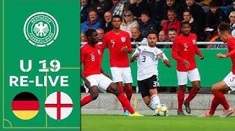 Deutschland - England 1:0   Re-Live   U 19 Länderspiel