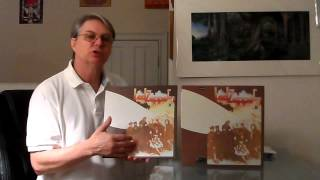 Led Zeppelin 2 ii, 2014 lp record reissue reviewed,compared to the classic records 200 gram reissue
