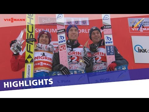 Johann Andre Forfang completes perfect weekend for Norway in Willingen | Highlights