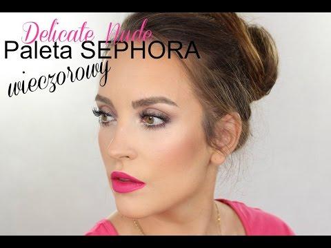 Seria Paletkowa - Sephora Delicate Nude - Makijaż Wieczorowy