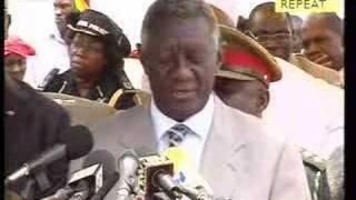 President Rep of Ghana Address Ahmadiyya Khelafat Centenary