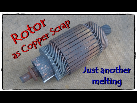 Rotor as copper