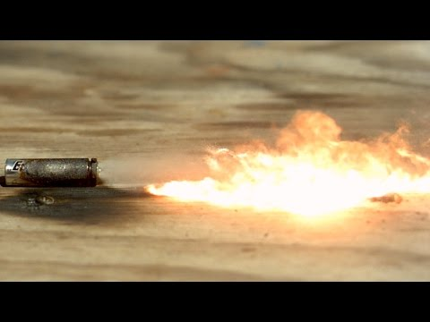 Exploding Batteries in Slow Motion - The Slow Mo Guys