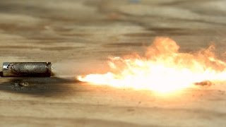 Exploding Batteries in Slow Motion - The Slow Mo Guys thumbnail