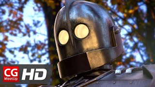"""CGI VFX Animated Short Film: """"The Iron Giant 2"""" by Christian Day 