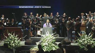 Jessye Norman Funeral Service Part 1
