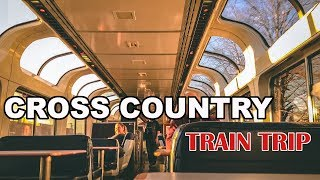 2018 Amtrak Cross Country Train Trip - Florida to Oregon