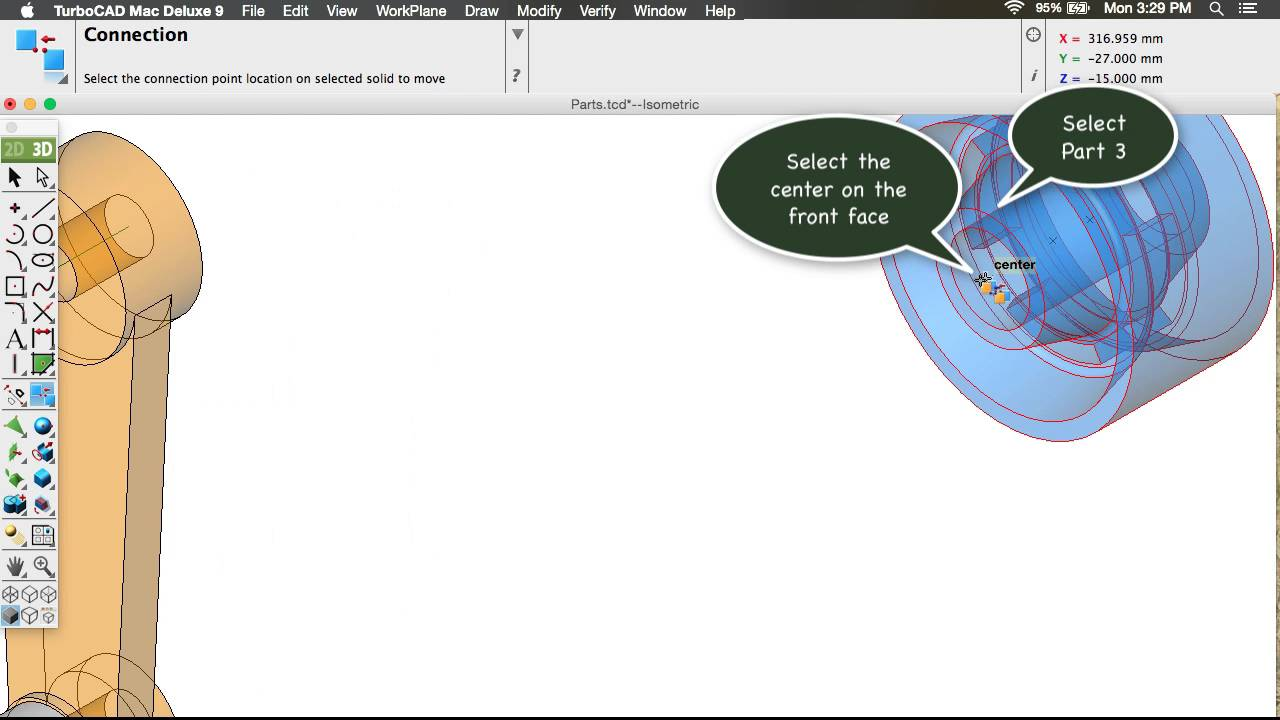 TurboCAD Mac Deluxe v11 and Training Bundle - TurboCAD via IMSI Design