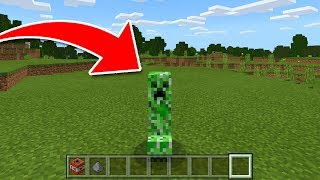 How To Be a Creeper in Minecraft Pocket Edition