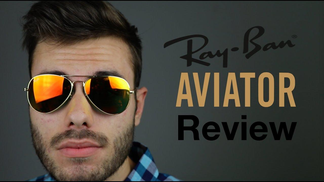 ray ban aviator review