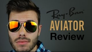 Ray-Ban Aviator Review(Ray-Ban RB3025 Aviators On Face Review ▻Buy here: http://amzn.to/1XWwmKh Subscribe Here: ..., 2016-06-03T20:00:01.000Z)