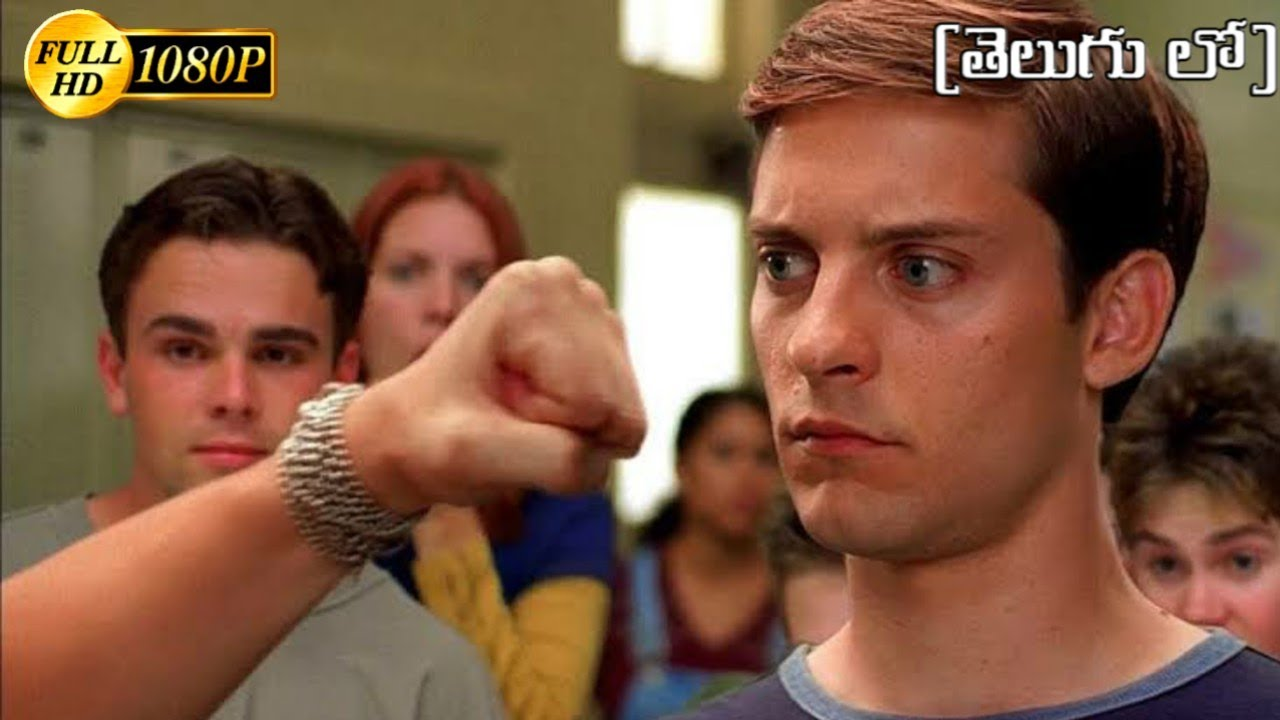 Download Peter Parker Vs Flash Fight Scene In Telugu |Spider-Man 1 (2002)Movie CLIP [FHD]