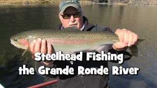 steelhead fishing the grande ronde river