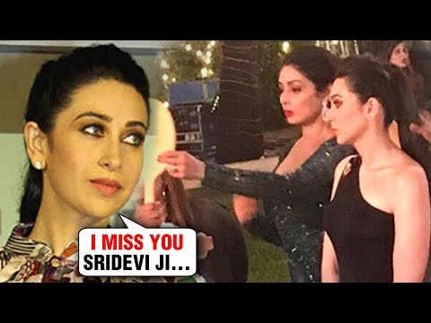 Karisma Kapoor EMOTIONAL Post For Late Sridevi, Thanks Shah Rukh Khan For ZERO