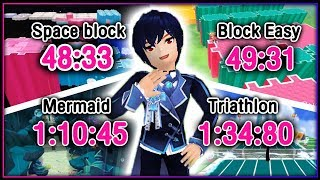 TalesRunner - Space block 48.33/block easy 49.31/sea 1.10.45/Triathlon 1.34.80