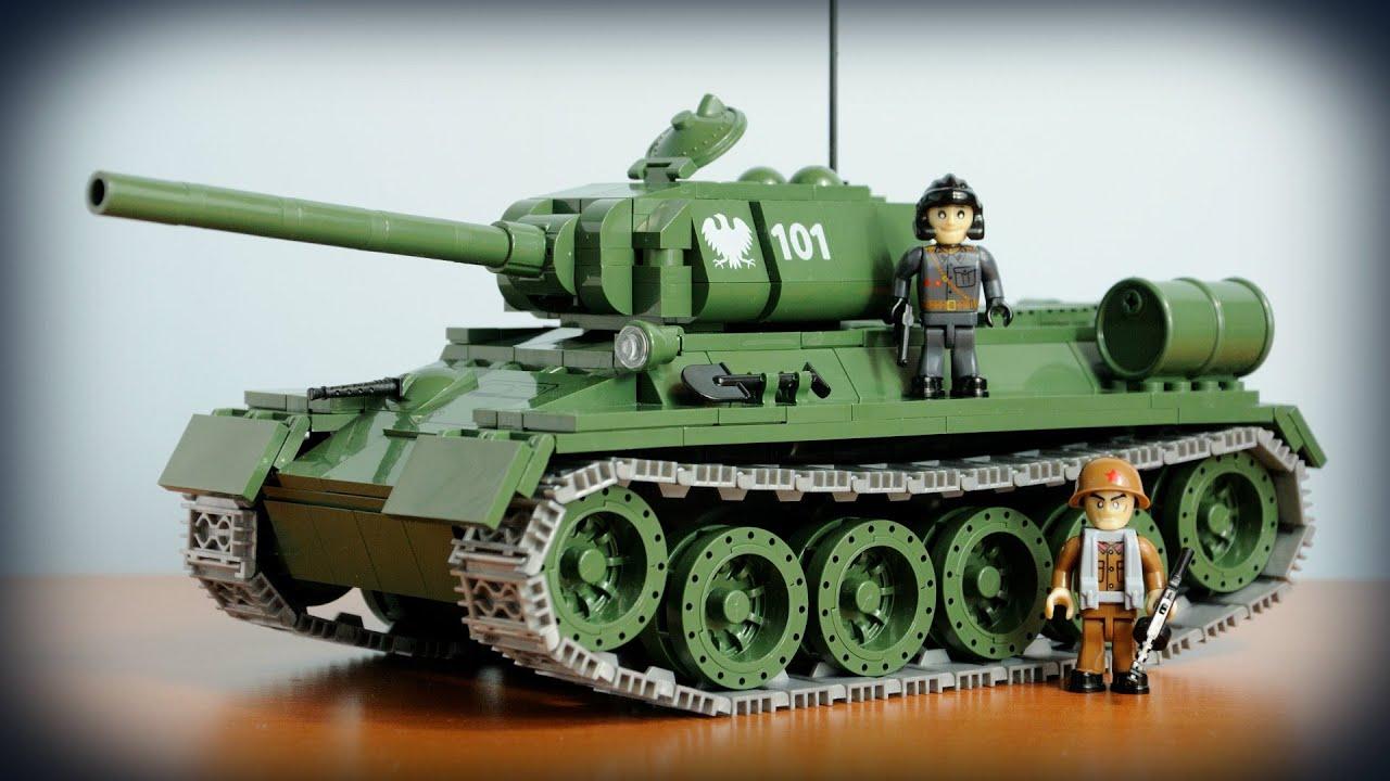 COBI T-34/85 (2452) - recenzja - YouTube