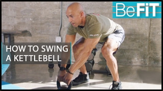 How to Swing a Kettlebell: BeFiT Trainer Open House- Adam Friedman