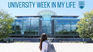 college week in my life || University of British Columbia ( UBC )