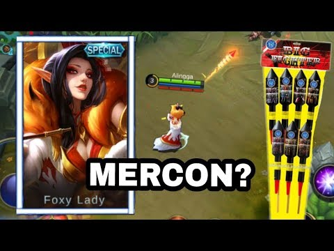 SKIN AURORA FOXY LADY !! MOBA KOK MAIN PETASAN ?? - Mobile Legend Indonesia