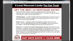 Low FHA Rates For Madison Area FHA Mortgages
