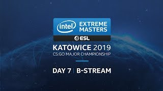 LIVE: FaZe vs. AVANGAR - IEM Katowice 2019 - Legends Stage - Secondary Stream