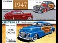 How to Build the 1947 Chevrolet Fleetmaster Aerosedan 1:25 Scale Galaxie Ltd Model Kit #13012