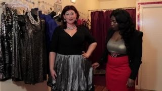 What Style Dress Looks Best for a Plus Size Mother of the Bride? : Plus Size Fashion Tips
