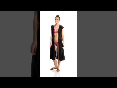 d86839545 O'Neill Lillian Maxi Cover Up Dress | SwimOutlet.com - YouTube