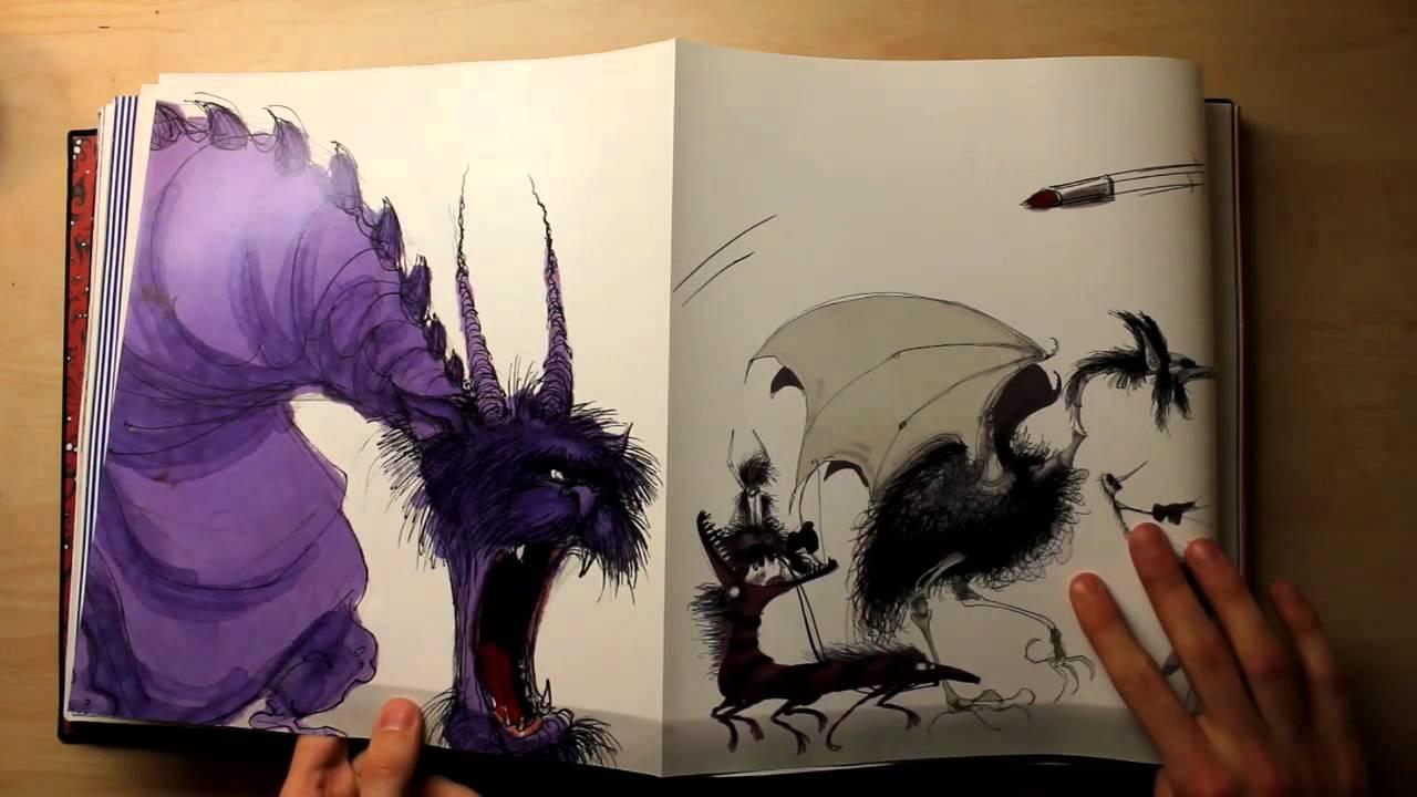 Kitap Perembesi The Art Of Tim Burton YouTube