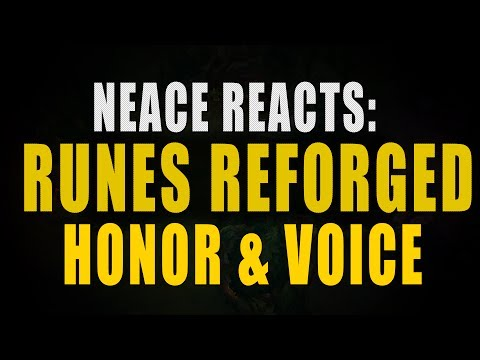 NEACE: Runes Reforged, New Honor System, and Voice Chat!