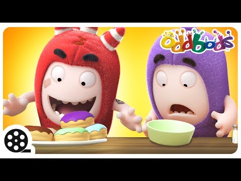 Thumbnail: Cartoon | Oddbods - Food Flicker | Funny Cartoons For Children