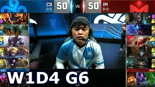 C9 vs IM - Worlds 2016 W1D4 Group B | LoL S6 World Championship Week 1 Day 4 Cloud 9 vs I May
