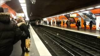 Paris metro, Havre Caumartin ligne 9