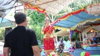 Jew Amornrat at Wat Lao Buddhavong July 4, 2014