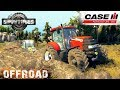 SpinTires CASE 160 TRACTOR OFF-ROAD TEST