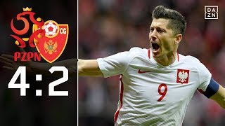 Polen holt den Gruppensieg: Polen - Montenegro 4:2 Highlights | WM-Quali | DAZN