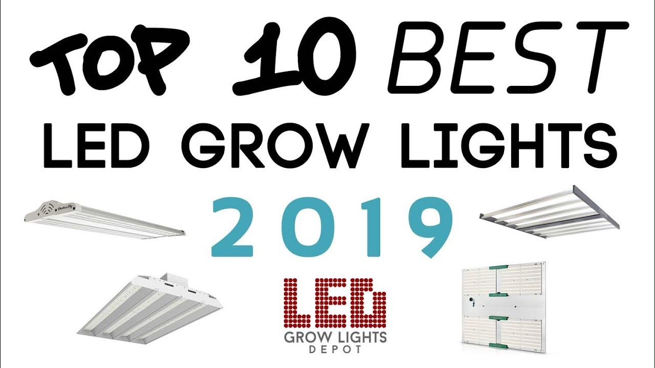 Best Led Grow Lights 2020.Top 10 Best Led Grow Lights Of 2019 Led Grow Lights Depot