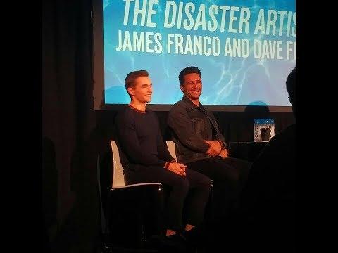 James Franco & Dave Franco talk THE DISASTER ARTIST - November 18, 2017