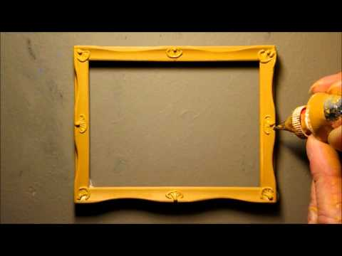 decorating a miniature picture frame - Miniature Frames