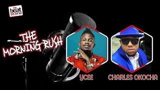 Ycee & Charles Okocha Stop By The Morning Rush!