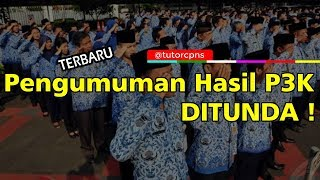 Kabar BKN Tunda Pengumuman Hasil Tes PPPK 2019 Tahap 1