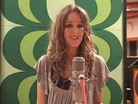 Me singing ``Unwritten`` by Natasha Bedingfield