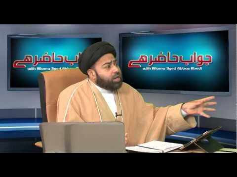 Jawab Hazir Hai P1 07 07 14  HIDAYAT TV