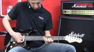 Magneto Guitars Sonnet Crown BK