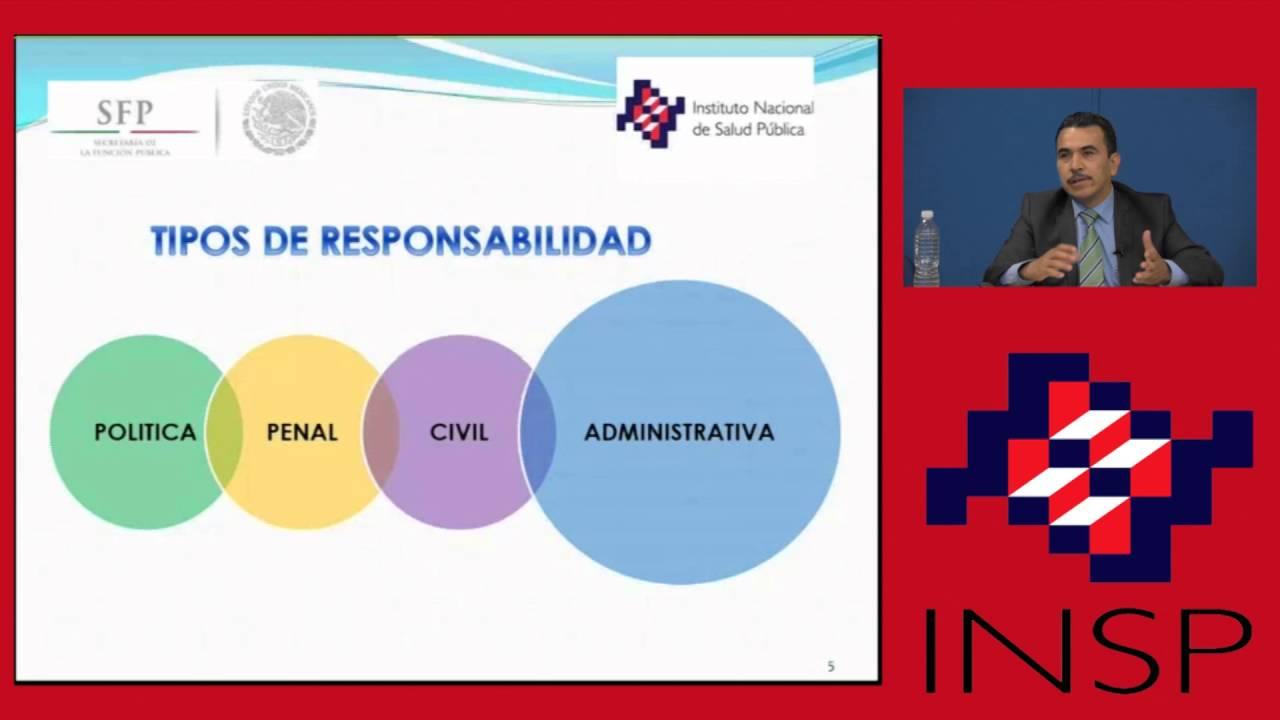 Responsabilidades administrativas de los servidores públicos ...