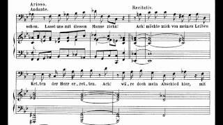 Bach BWV 82-2 Ich habe genug (Recitative)